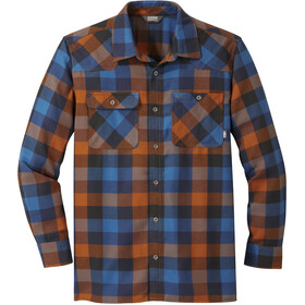 Outdoor Research Feedback Flannel LS Shirt Men umber plaid